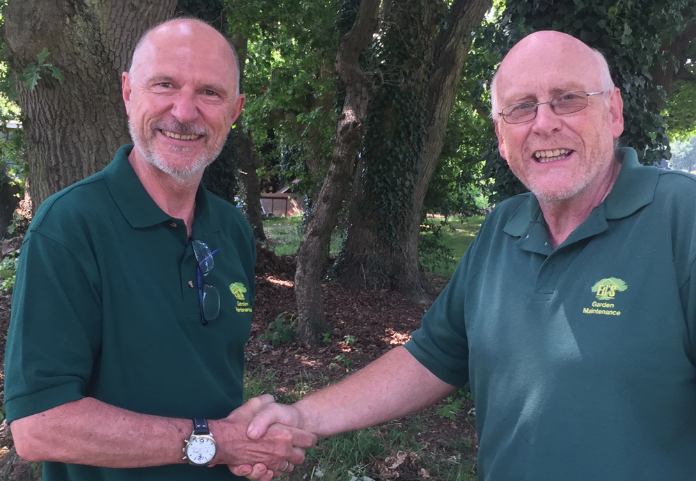 Ed's bids a fond farewell to Adrian and welcomes Peter
