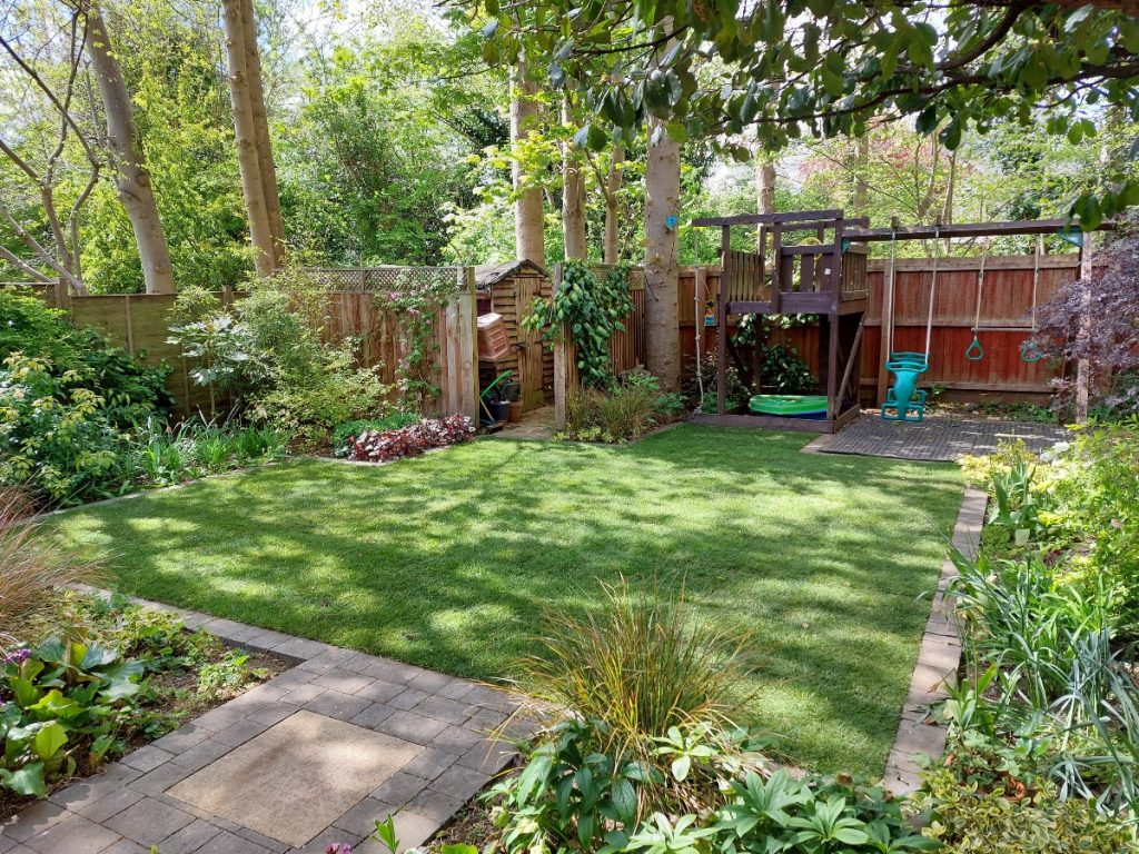 Ali's gardening business franchise well maintained lawn